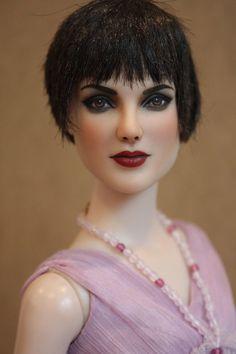 "Tonner Tyler 16"" OOAK TWILIGHT Alice Cullen Repaint Art Doll by Artist SashaBleu #Tonner #ArtistRepaintDoll"