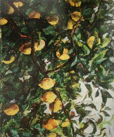 Кончаловский Петр - «Италия. Лимоны на ветках». 1924. Холст, масло. 75х92