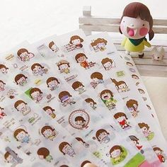 Momoi Series Stickers from #YesStyle <3 iswas YesStyle.com