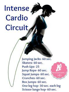 Intense Cardio Circuit