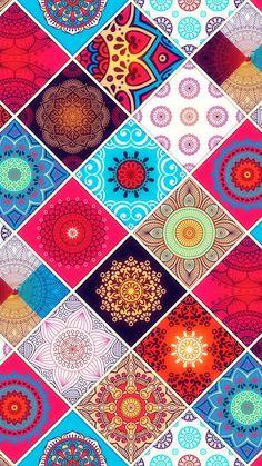 Mandala Pattern wallpaper by Sixty_Days - - Free on ZEDGE™ Graphic Wallpaper, Cute Wallpaper Backgrounds, Wallpaper Iphone Cute, Cellphone Wallpaper, Galaxy Wallpaper, Cute Wallpapers, Mandala Wallpapers, Mandala Pattern, Mandala Art