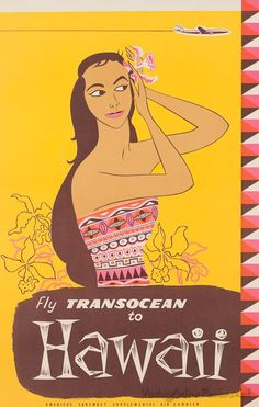 Hawaii • TransOcean #travel #poster
