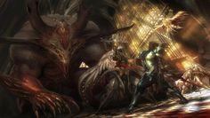 Fantasy Art: Cancelled Project Concept Art - 2D Digital, Concept art, FantasyCoolvibe – Digital Art