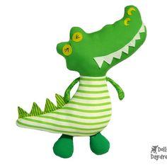DollsAndDaydreams / Peter Pan Play Set 1 - Captain Hook and Crocodile