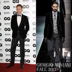 Male Fashion Trends: Tom Hiddleston en Giorgio Armani – GQ Men Of The Year Awards 2013 #GQAwards