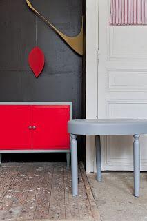 Meubles vintage crées ou rénovés - Atelier Bulle - Paris