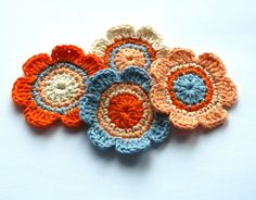 Crochet Embellishments | Flickr - Photo Sharing!