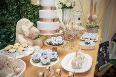 Chá Revelação tema Ovelhinhas   Macetes de Mãe Baby Shower Parties, Baby Shower Themes, Baby Showers, Lamb, Table Decorations, Party, Babies, Simple Gender Reveal, Pie Wedding Cake