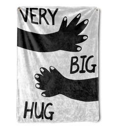 Hug Blanket Black And White Throw Blanket Best Friends Birthday Gifts Bestie Blanket Long Distance Gift Going Away Gift Long Distance Birthday, Long Distance Gifts, Birthday Gift For Him, Friend Birthday Gifts, Candy Quotes, Candy Sayings, White Throw Blanket, Throw Blankets, Gifts For Husband