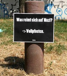 Was reimt sich auf Nazi? Neues von Barbara.