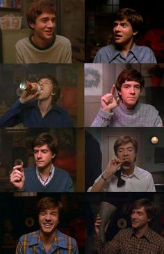 That 70's Show Eric - even just his face makes me laugh