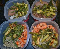 Meal prep for take-to-work lunches