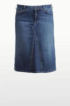 I have  made several of these jean skirts, even one from khakis. :) Fun for summer!