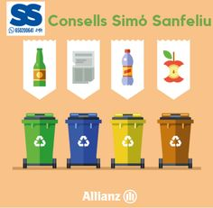 📞 Whatsapp 📲 650200641 24h✔ 💙 Saps quin és el contenidor de reciclatge adequat? 💙 ¿Sabes cuál es el contenedor de reciclaje adecuado?  #recicla #Barcelona #Terrassa #Manresa #SantFruitósdeBages #Financiero #SantCugatdelVallès #Matadepera #Consells_Simó_Sanfeliu #reciclar #reciclaje #Consejos #Ahorro #reciclatge #reciclable #reciclados #reciclarse #medioambiente #sostenibilidad  #MediAmbient Reduce Reuse Recycle, Barcelona, Recycling, Logos, Sustainability, Environment, Financial Statement, Upcycling, Tips