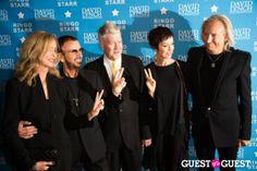 Barbara Bach, Ringo Starr, David Lynch, Marjorie Bach, Joe Walsh