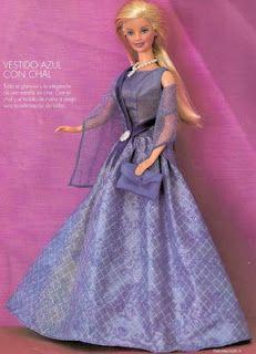 Arte e croche: Barbie - alta costura