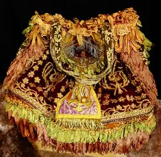 Authentic MAGNOLIA PEARL Large Travel Bag of Antique French Vestment - Exquisite   eBay