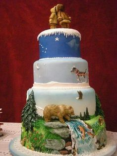 This is the kind of cake I would want!