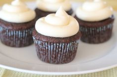Chocolate Cupcakes for Cheaters | Slice & Dice