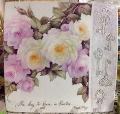 The Key to Roses Modern Design | ARTchat - Porcelain Art Plus (formerly Chatty Teachers & Artists)