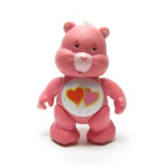 Love-A-Lot Bear Care Bears Poseable Toy
