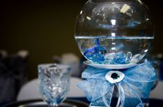 photos of texas quinceanera decorations | Rincon Real Hall Decorations: Fishy themed quinceanera Houston tx