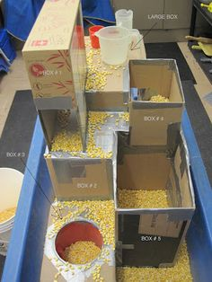SAND AND WATER TABLES: BOXES IN BOXES