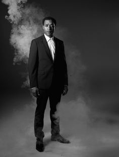 Chiwetel Ejiofor for W Magazine by LORNA SIMPSON// Phenominal Actor! His role picks are so clutch!