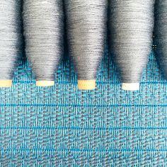 Blues and greys for today  #sustainablefashion #sustainable #sustainableliving #sustainabletextiles #sustainabledesign #eco #ecofriendly #ecotextiles #plantbased #vegan #crueltyfree #organic #weaver #woven #woventextiles #textile #textiledesign #textiledesigner #luxury #luxuryyarn #luxurylife #luxurylifestyle #madeinhampshire #madewithlove #footpowered #organiccotton #organiccottonyarn #bamboo #bambooyarn