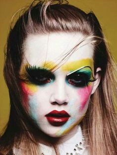Coloful makeup