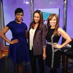 Fun catching up with @tiamowry today to talk #instantmom, #kidsmartz and more! #newyorklivetv