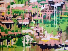 Abstract painting by Anna Gibbs