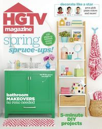 April 01, 2017 issue of HGTV Magazine