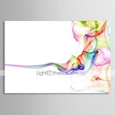 Oil Painting Abstract Thinking 1211-AB0079 Hand-Painted Canvas - USD $ 53.99