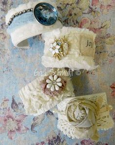 Cuff Bracelets - From the Shabby Cottage
