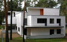 Walter Gropius - 1926 Muche/Schlemmer House Dessau