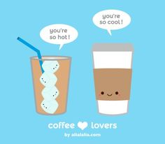 What a perfect friendship! #Coffee #Funny #MrCoffee