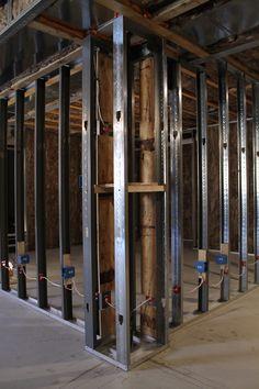 metal stud construction | Metal Stud Wall Framing