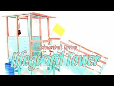 Fabulous Craft Review: Doll Lifeguard Tower - YouTube