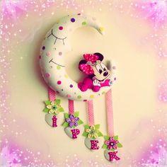 Minnie+Mouse+Bebek+Kapı+Süsü