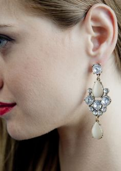 Bridal Inspired Statement Earrings 14,90 € #happinessbtq