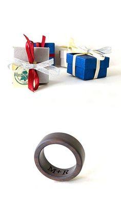 Ebony Wood Ring, Mens Wedding Band, Brown Ebony Ring, Women Wedding Ring, Wedding Ring, Unisex Ring, Wooden Wedding Jewelry, Ebony Jewelry, Holiday Gift