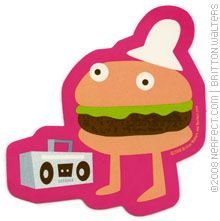 Hip Hop Hamburger ... word