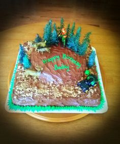 Chocolate Deer Hunting Cake