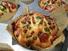 Rețetă Aperitiv : Briose tip pizza de Ionela2682