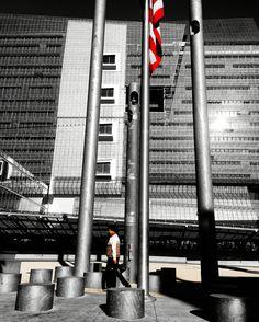 Flag Cn Tower, Fine Art Photography, Flag, Building, Travel, Art Photography, Viajes, Buildings, Destinations