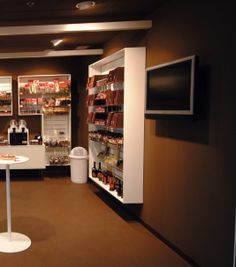Sustainable Marmoleum Floor - retail Sustainable Building Materials, Liquor Cabinet, Sustainability, Retail, Flooring, Storage, Furniture, Home Decor, Purse Storage
