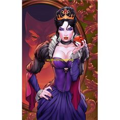 Dark Disney, Evil Disney, Disney Fan Art, Disney Princess Art, Fantasy Art Women, Fantasy Girl, Disney Villains, Disney Pixar, Girl Cartoon