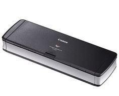 Canon imageFORMULA P-215 Portable Document Scanner (Scan-tini): http://www.amazon.com/Canon-imageFORMULA-Portable-Document-Scan-tini/dp/B00671E4B2/?tag=cheap136203-20