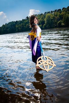 Final Fantasy X - Yuna #gaming #cosplay #FinalFantasy
